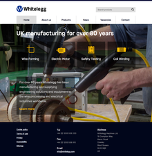 Index whitelegg website