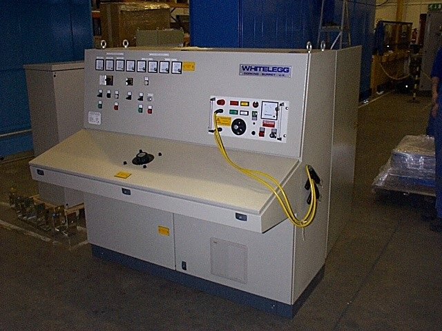 test panels whitelegg machines On electric motor test panel